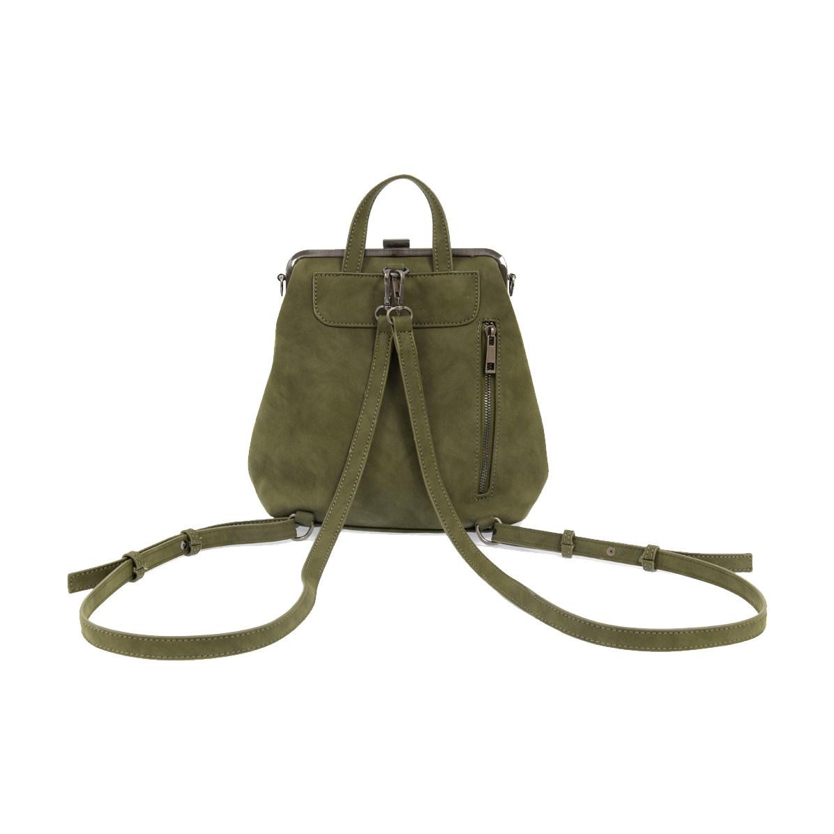 Joy Susan Joy Susan Phyllis Nubuck Convertible Backpack Olive