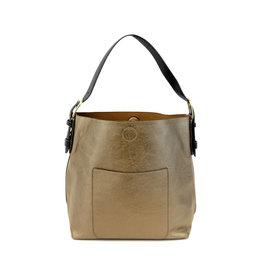 Joy Susan Classic Hobo Handbag Bronze