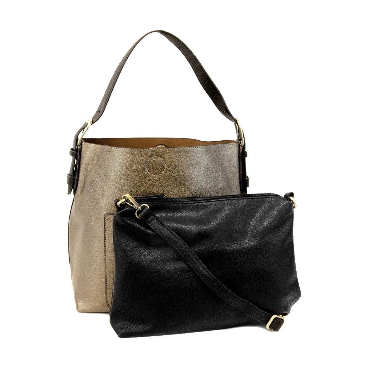 Joy Susan Classic Hobo Handbag Bronze Summit Footwear