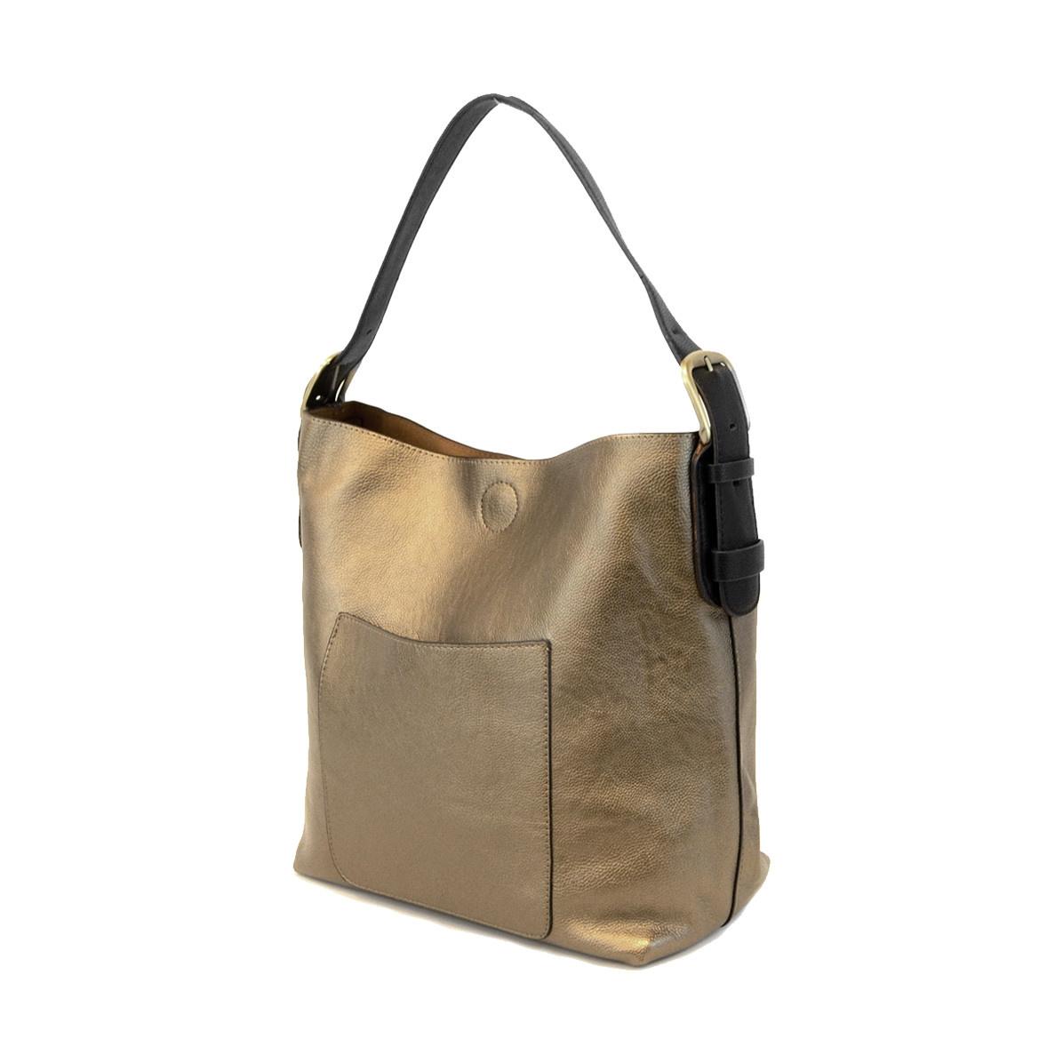 Joy Susan Joy Susan Classic Hobo Handbag Bronze