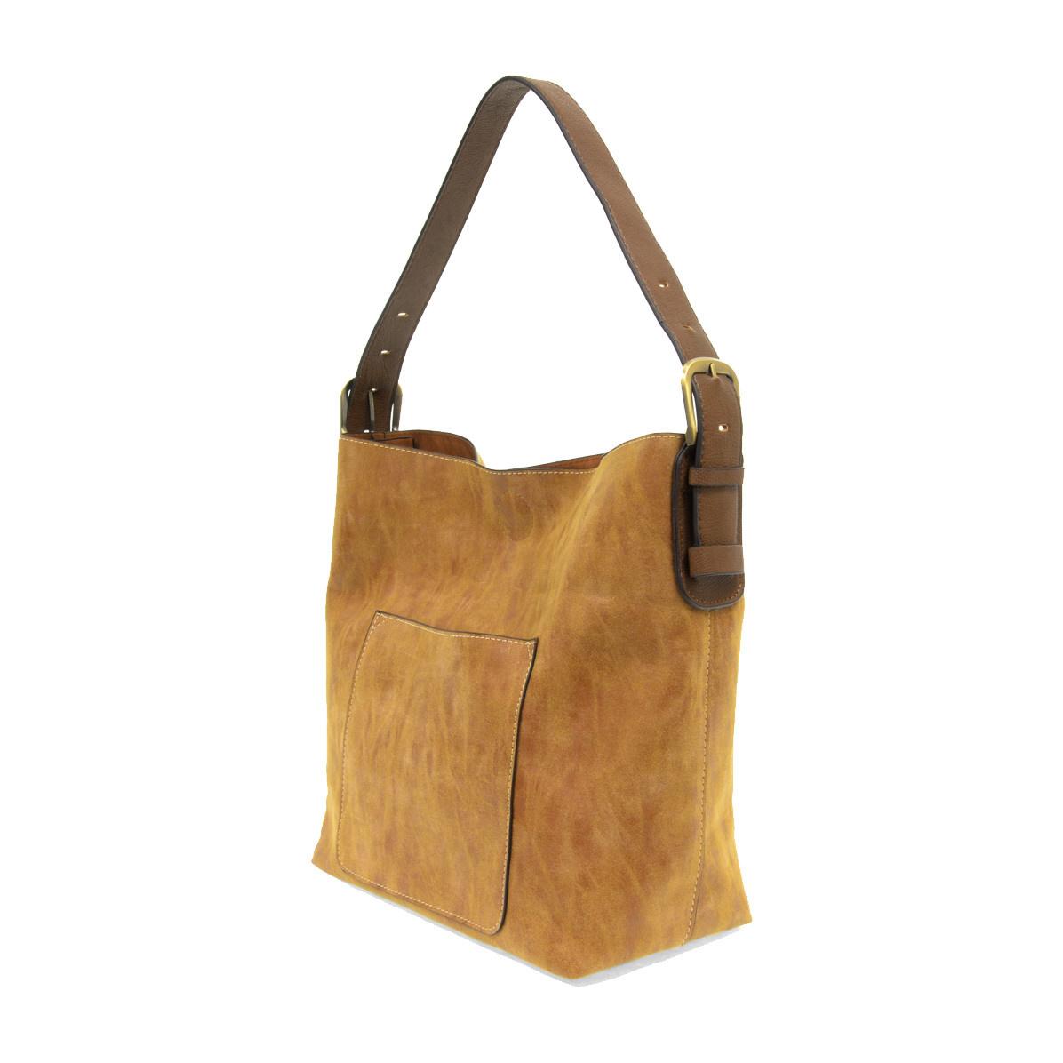 Joy Susan Joy Susan Lux Hobo Handbag Cognac