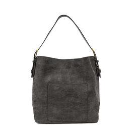 Joy Susan Lux Hobo Handbag Black