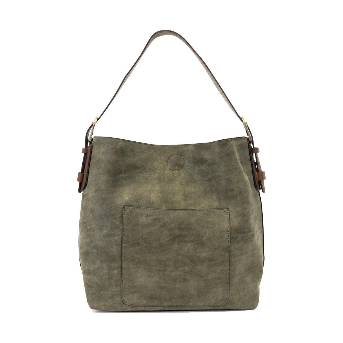 Joy Susan Joy Susan Lux Hobo Handbag Olive