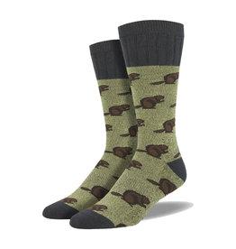Socksmith Men's Boot Socks Beaver Green