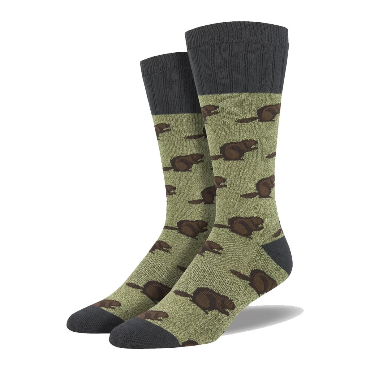 Socksmith Socksmith Men's Boot Socks Beaver Green