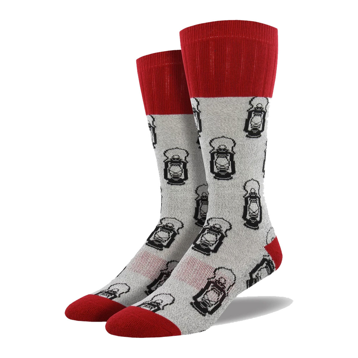 Socksmith Socksmith Men's Boot Socks Lantern Grey