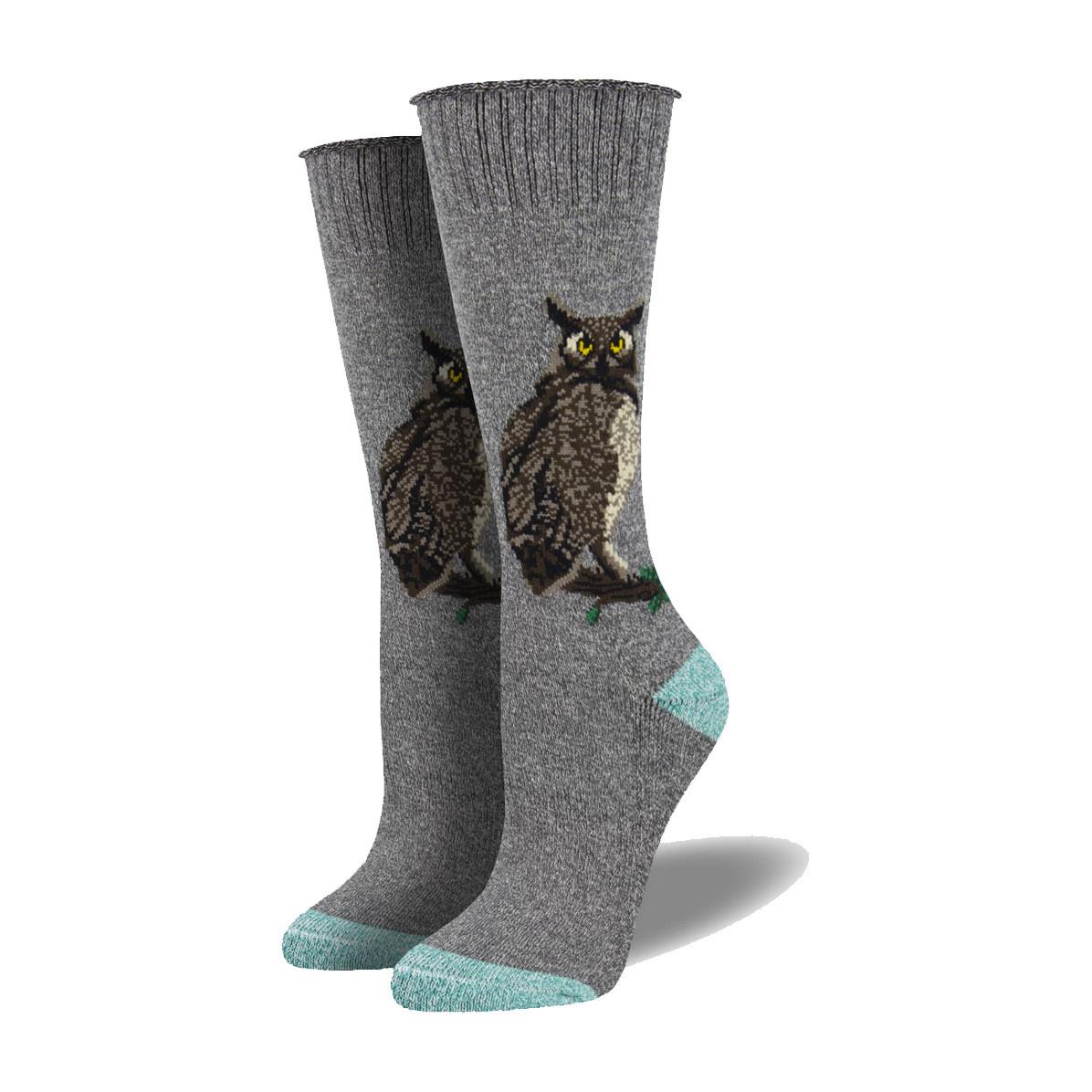 Socksmith Socksmith Women's Boot Socks Wise Guy Grey