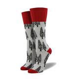 Socksmith Socksmith Women's Boot Socks Trees Grey