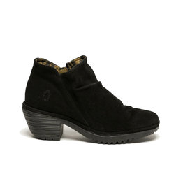Fly London Women's Oil Suede Black