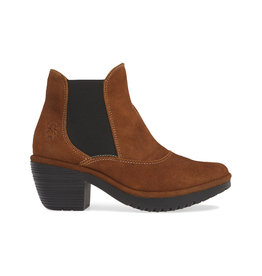 Fly London Women's Ranch Cognac