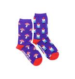 Friday Sock Co. Friday Sock Co. Women's Gnome & Mushroom Crew W 5 - 10 (M - 4 - 8)