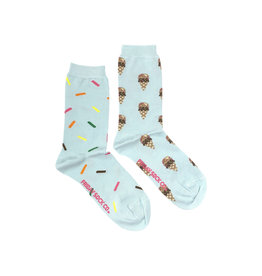 Friday Sock Co. Women's Ice cream & Sprinkles Crew W 5 - 10 (M - 4 - 8)