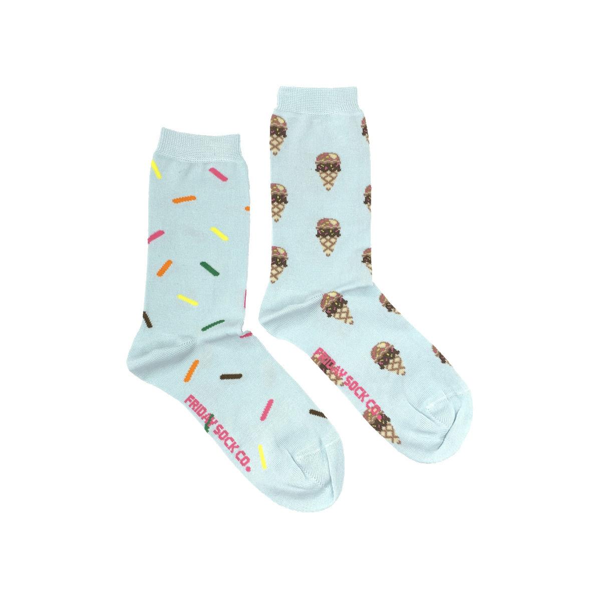 Friday Sock Co. Friday Sock Co. Women's Ice cream & Sprinkles Crew W 5 - 10 (M - 4 - 8)
