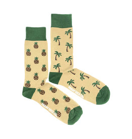 Friday Sock Co. Men's Pineapple & Palm M 7 - 12 (W 8 - 13)