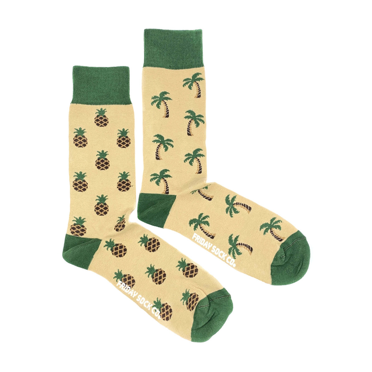 Friday Sock Co. Friday Sock Co. Men's Pineapple & Palm M 7 - 12 (W 8 - 13)