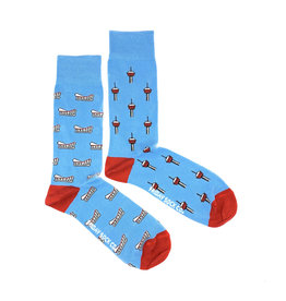 Friday Sock Co. Men's Tower & Dome M 7 - 12 (W 8 - 13)