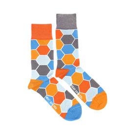 Friday Sock Co. Men's Hexagon M 7 - 12 (W 8 - 13)