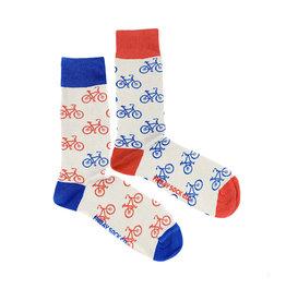 Friday Sock Co. Men's Bike Bike Bike M 7 - 12 (W 8 - 13)
