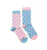 Friday Sock Co. Friday Sock Co. Women's Little May Papery Hearts Crew W 5 - 10 (M - 4 - 8)