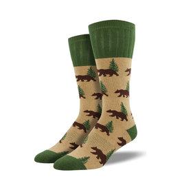 Socksmith Men's Boot Socks Bear Hemp