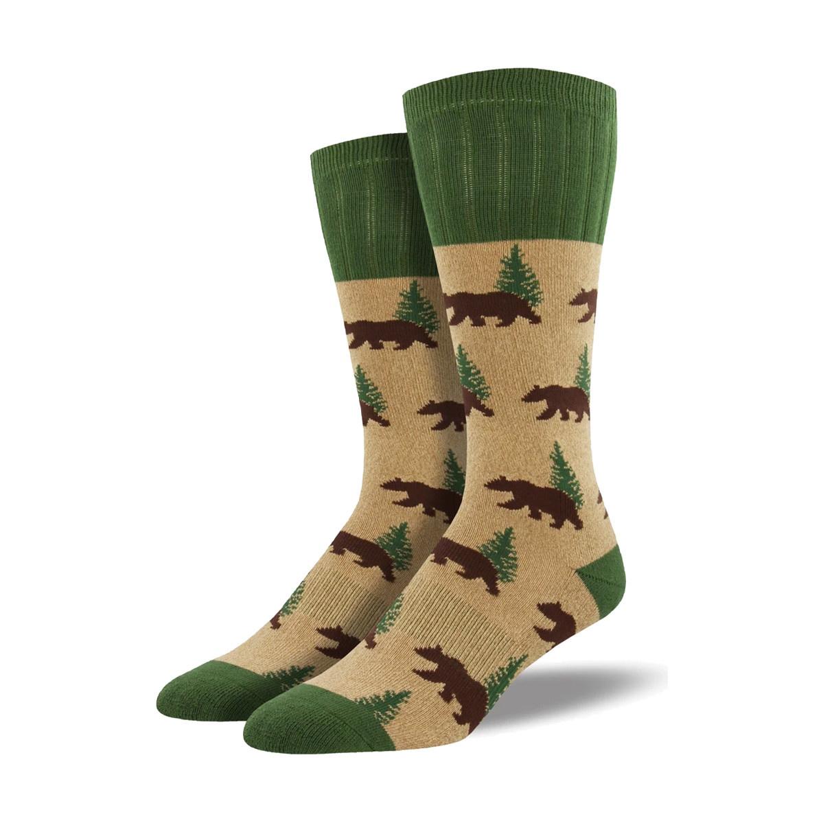Socksmith Socksmith Men's Boot Socks Bear Hemp