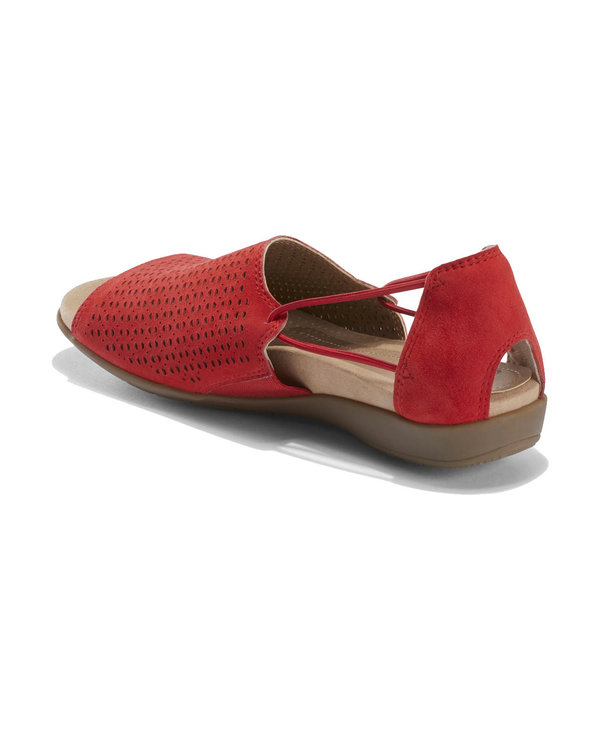 Earth Women's Abra Spicy Red Suede