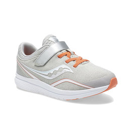 Saucony Youth Kinvara Silver Coral