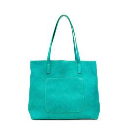 Joy Susan Megan Carry All Tote Light Turquoise