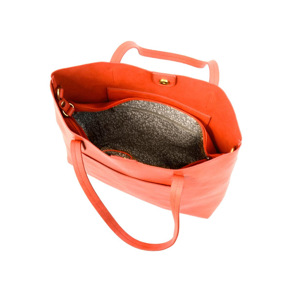 Joy Susan Joy Susan Megan Carry All Tote Red