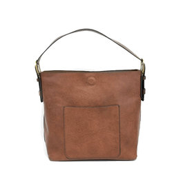 Joy Susan Classic Hobo Handbag Cognac