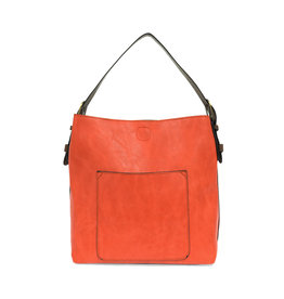 Joy Susan Classic Hobo Handbag Coral
