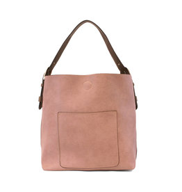 Joy Susan Classic Hobo Handbag Mauve