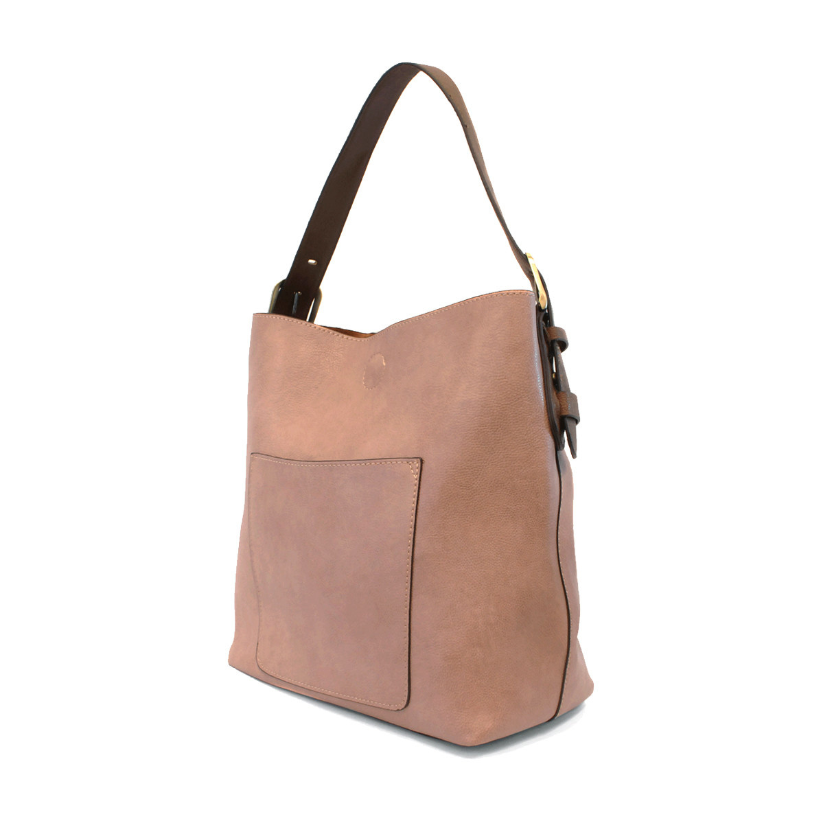 Joy Susan Joy Susan Classic Hobo Handbag Mauve