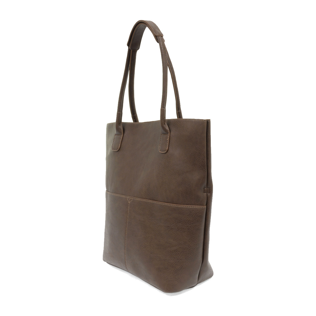 Joy Susan Joy Susan Kelly North South Front Pocket Tote Chocolate