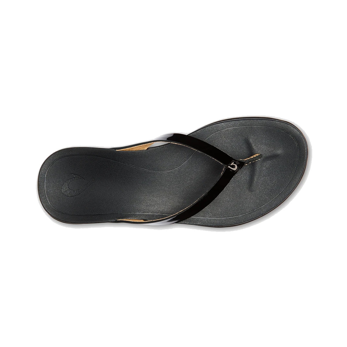 OluKai Olukai Women's Ho'Opio Leather Black/Black