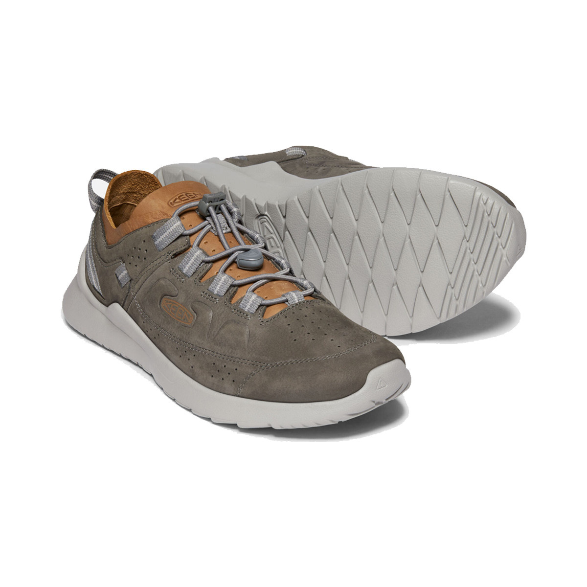 Keen Keen Men's Highland Leather Steel Grey / Drizzle