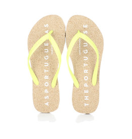 Asportuguesas Flip Flop Natural / Yellow