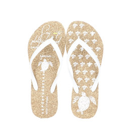 Asportuegusas Flip Flop Natural / White