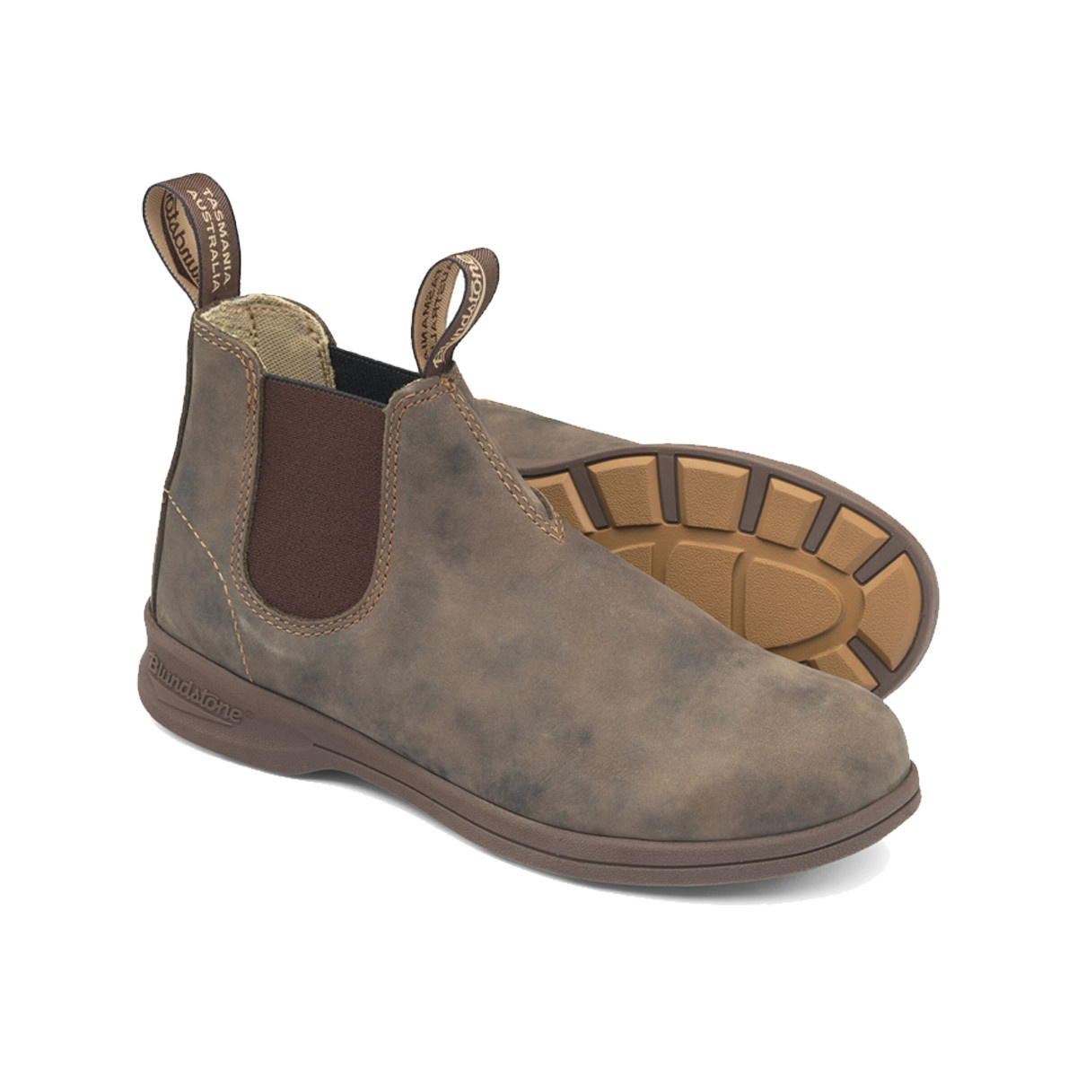 Blundstone Blundstone Unisex Active 1496 Leather Rustic Brown