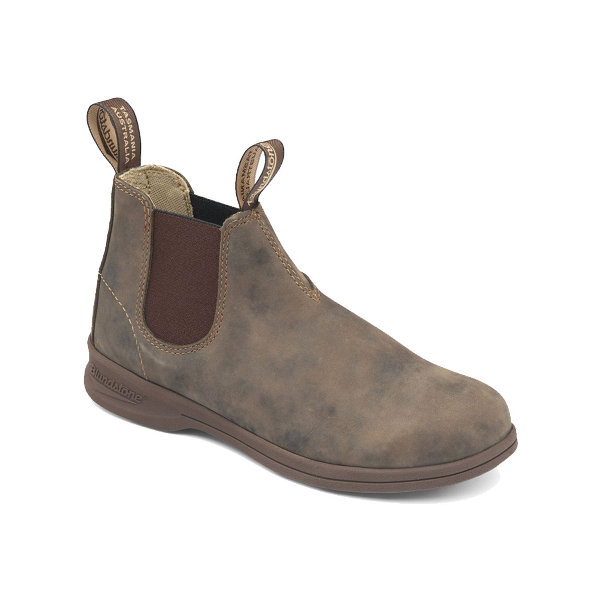 Blundstone Blundstone 1496 Unisex Active Leather Rustic Brown