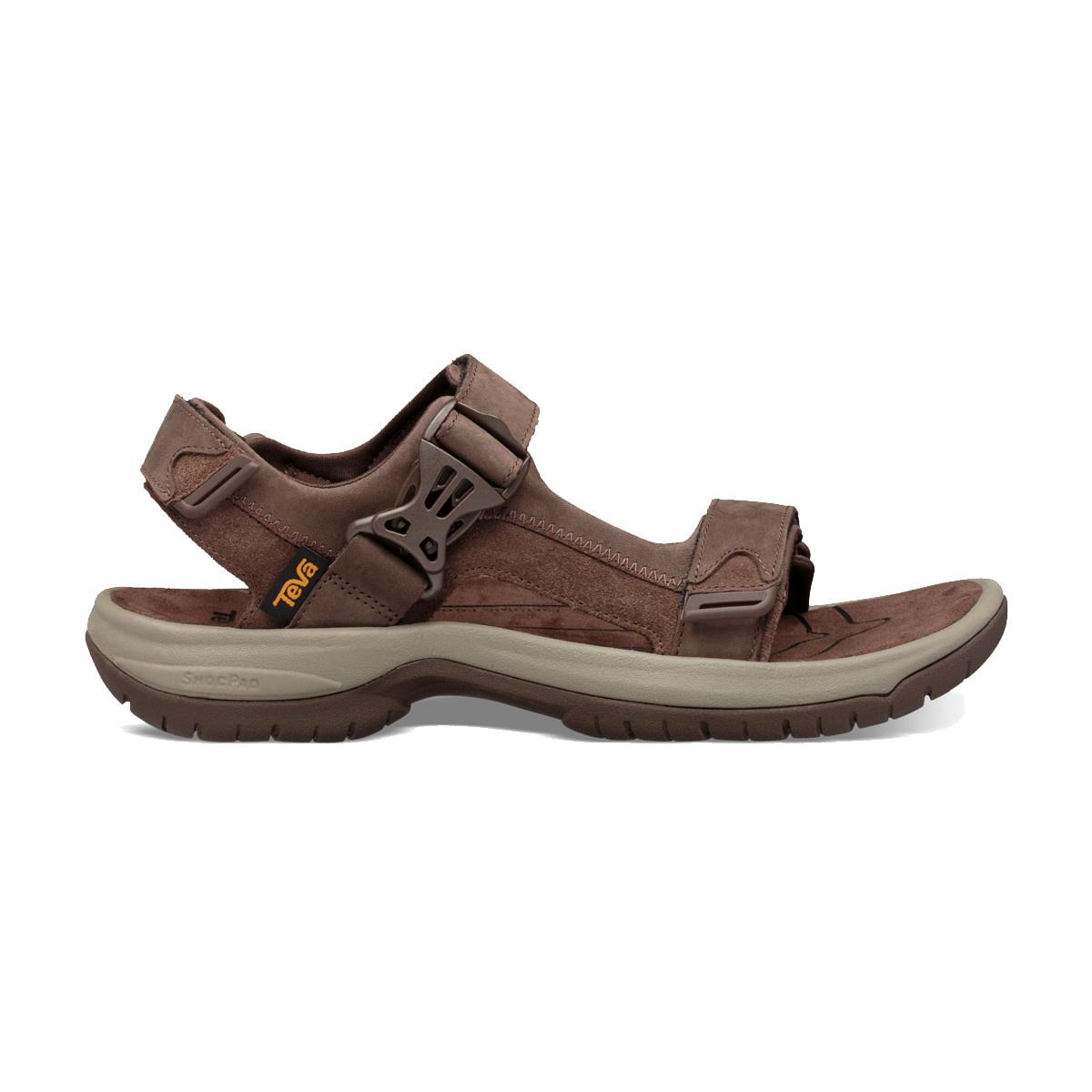 TEVA Teva Men's Tanway Leather Brown