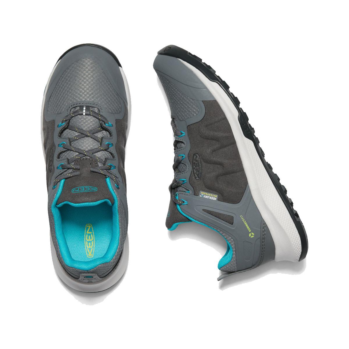 Keen Footwear Keen Women's Explore WP-W Steel/Turquoise