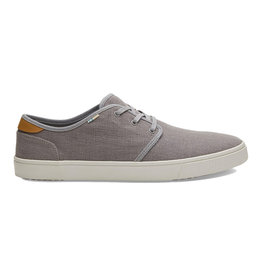 TOMS Men's Carlo Drizzle Grey Heritage Canvas