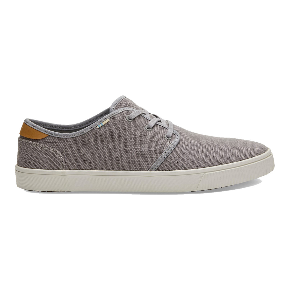 TOMS TOMS Men's Carlo Drizzle Grey Heritage Canvas
