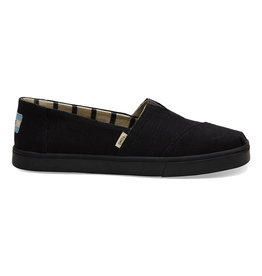 TOMS Women's Alpargata Boardwalk Black / Black