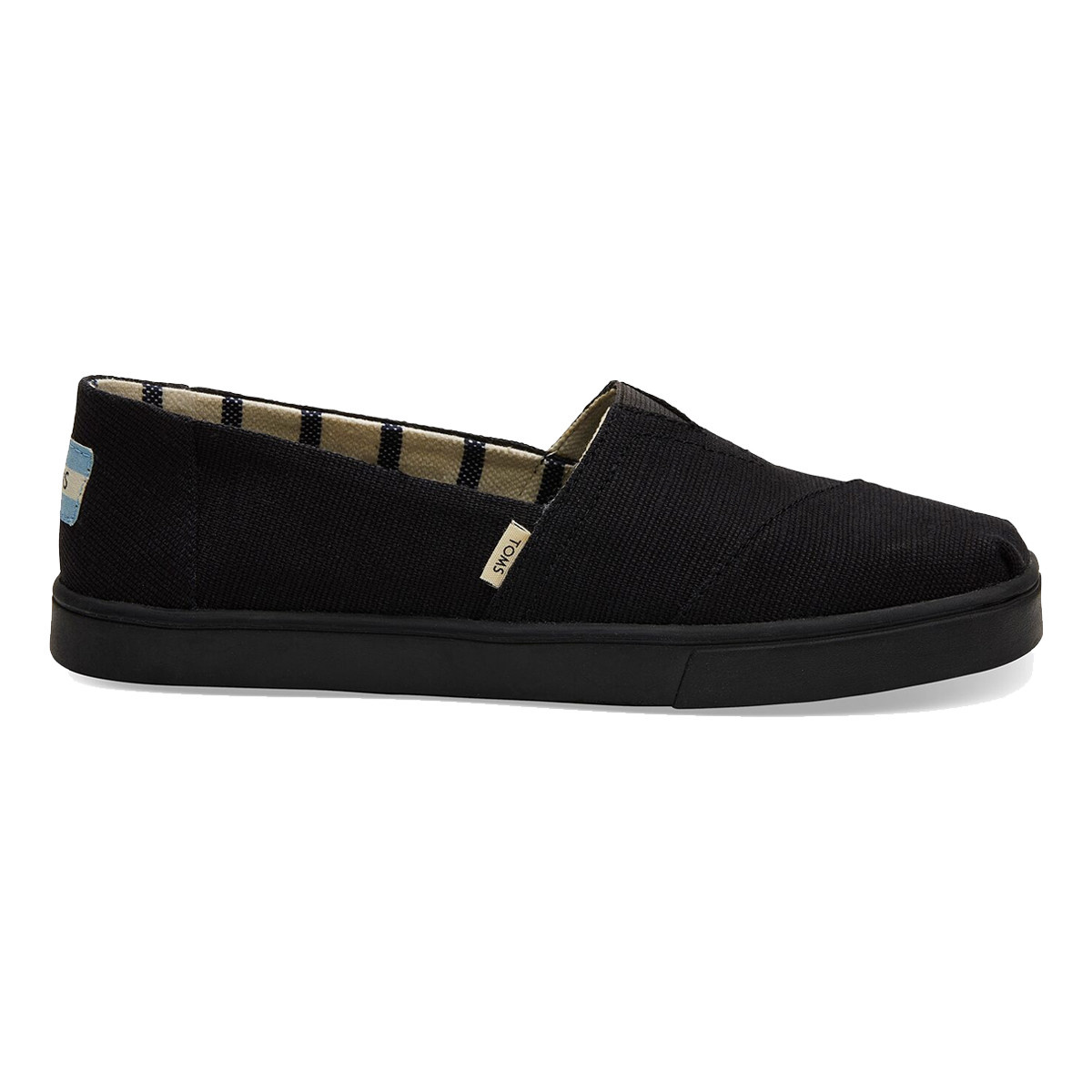 TOMS TOMS Women's Alpargata Boardwalk Black / Black