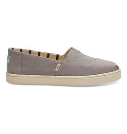 TOMS Women's Alpargata Boardwalk Dove Canvas