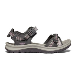 Keen Women's Terradora II Open Toe Dark Grey / Dawn Pink