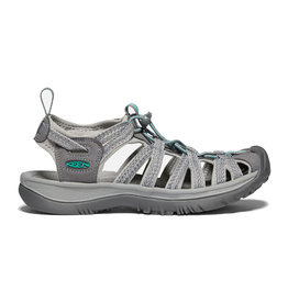 Keen Women's Whisper Grey / Peacock Green