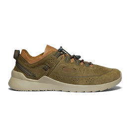 Keen Men's Highland Leather Dark Olive